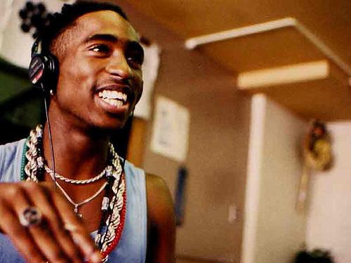 Tupac smile