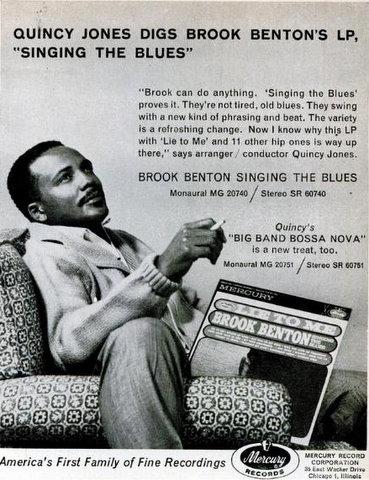 Quincy Jones Model for Mercury Records
