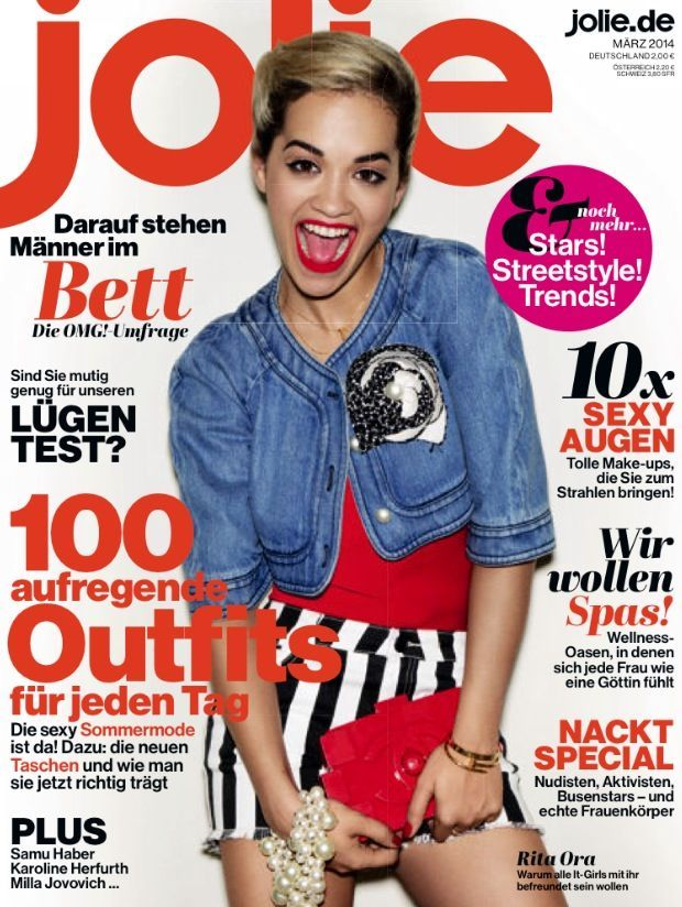 Rita Ora for JOLIE Magazine (Germany)