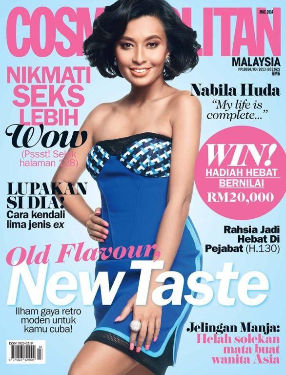 Nabila Hula for COSMOPOLITAN Magazine (Malaysia Edition)