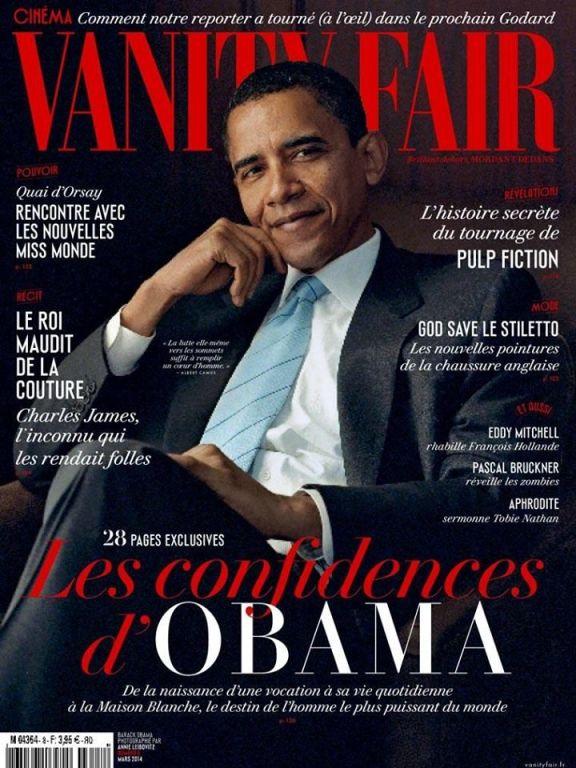 Vanity Fair_France_Barack Obama