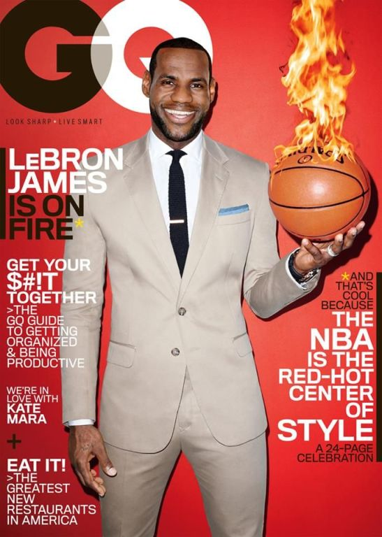 Lebron James for GQ Magazine (US Edition)