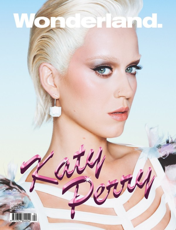 Katy Perry Wonderland Magazine