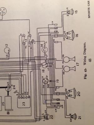 front turn signal wiring tr3a : TR2 & TR3 Forum : Triumph
