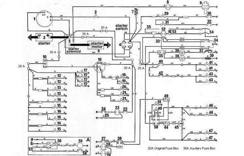 triumph herald wiring diagram