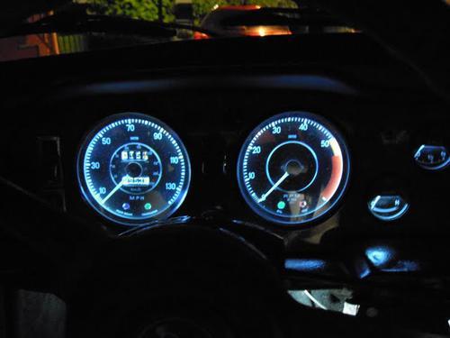 Dim Gauge Lighting Spitfire Amp GT6 Forum Triumph