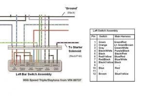Wiring Diagram in manual confusing  Triumph Forum