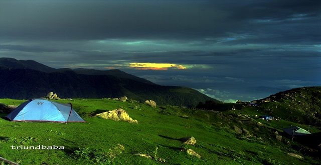 Magic Rays in Triund