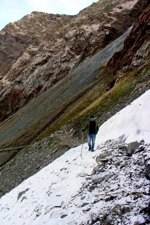 Glacier rock patch