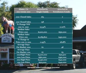 Alamo Home Sales Info