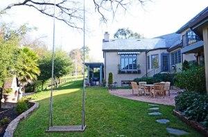 Royal Oaks Drive Wooden Swing