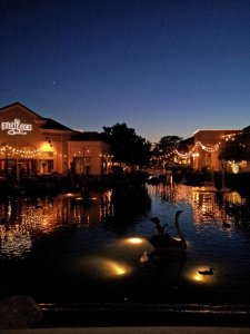 A Fall Evening at Blackhawk Plaza