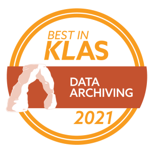 TRIYAM is the winner of 2021 Best in KLAS award in Data Archiving
