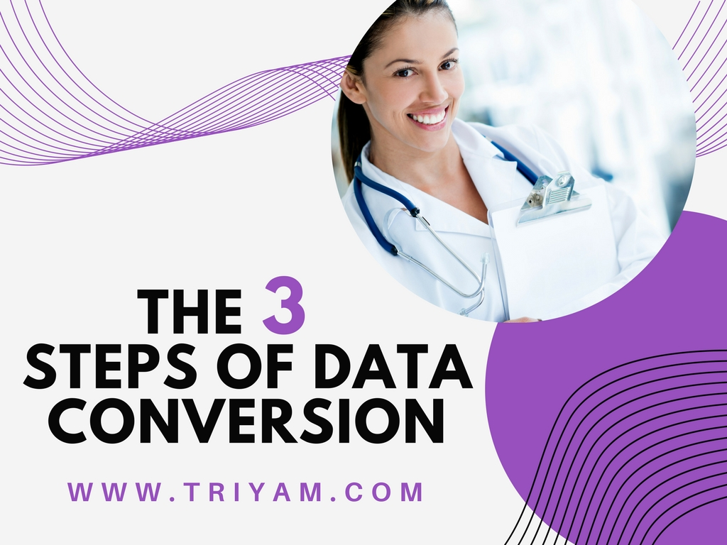 The 3 Steps of Data Conversion