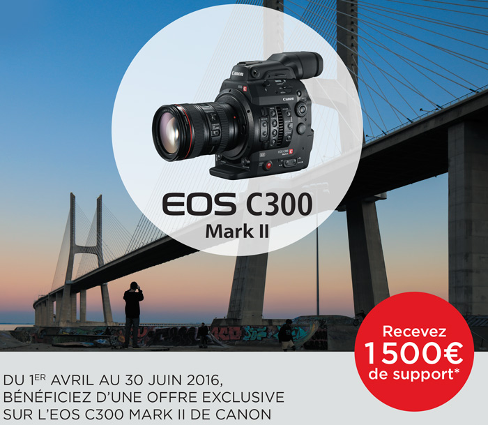 PROMO Canon C300 Mark II