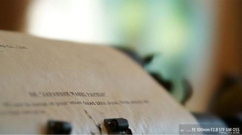 Sony FE 100mm F2.8 STF GM OSS - Objectif