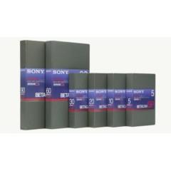 Cassettes Betacam SP