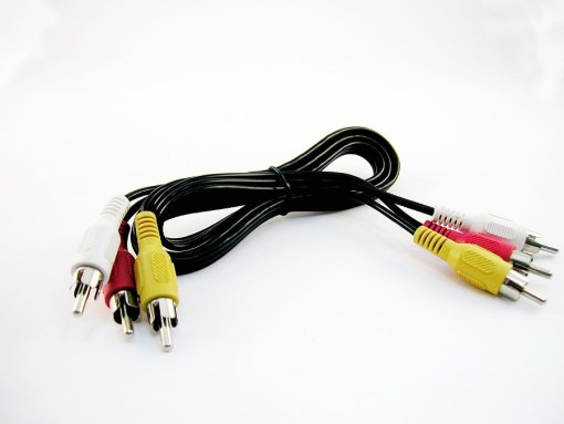 CORDON  AUDIO/VIDEO 3 RCA M/M 2,5m