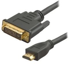CORDON VIDEO DVI-D M / HDMI-A M - 2m