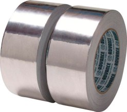 TAPE ALUMINIUM ADVANCE 50mm*25m NOIR MAT