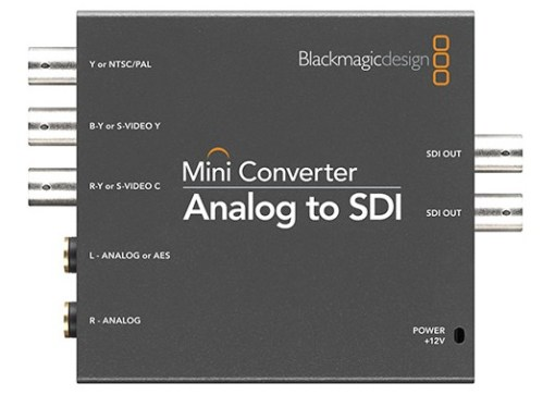 Blackmagic Design Mini Converter Analog to SDI - Convertisseur