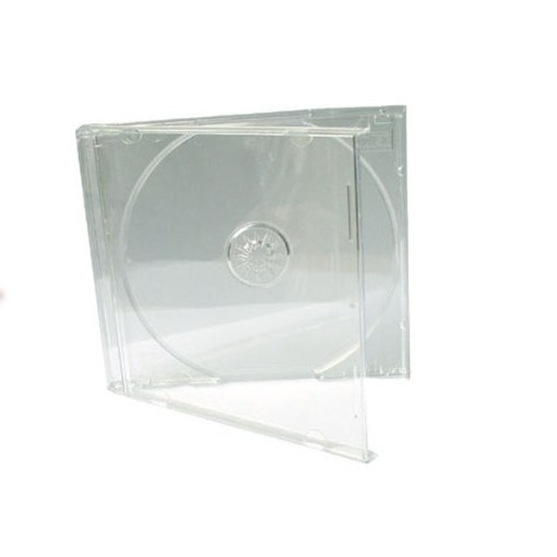 BOITIER DVD SLIM TRANSPARENT