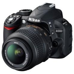 APPAREIL PHOTO NIKON D3100 AVEC OBJECTIF AF-S DX 18-55MM