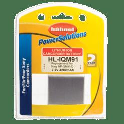 Hähnel HL-IQM91 - Batterie