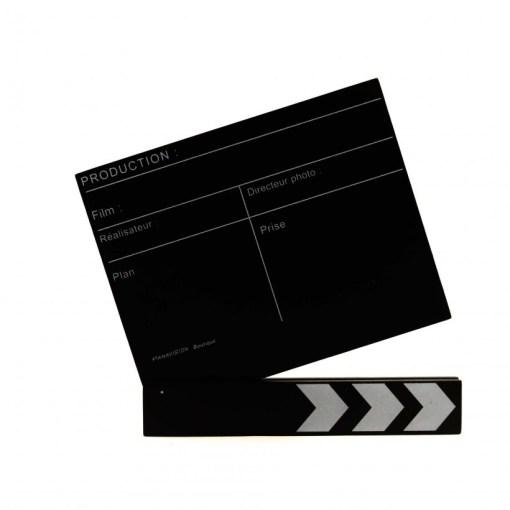 clap cinéma noir