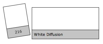 ROULEAU DE FILTRE LEE FILTERS WHITE DIFFUSION FULL