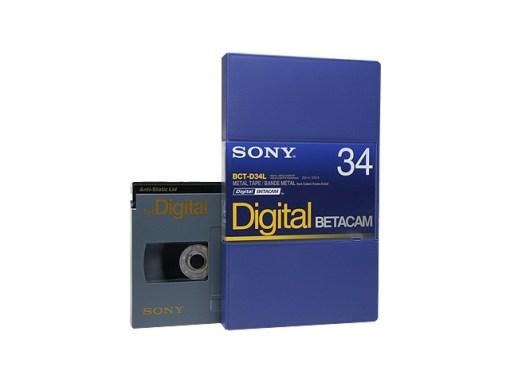 K7 DIGITAL BETA SONY 34' L