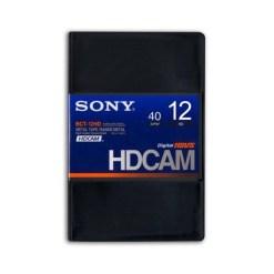 K7 HDCAM SONY 12'