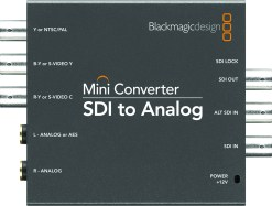 Blackmagic Design Mini Converter SDI to Analog - Convertisseur
