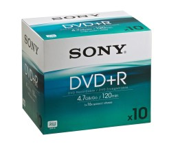 DVD+RW 4.7G SONY