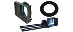 GENUSTECH Kit MatteBox avec barres de support pour reflex