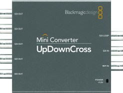 CONVERTISSEUR HD/SD UP-DOWN-CROSS BLACKMAGIC