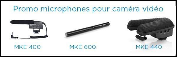 Promotion Sennheiser MKE 400, MKE 440, MKE 600