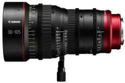 Canon Compact Zoom Cine Lens CN-E 30-105mm T2.8 Monture EF - Objectif Zoom Cinéma