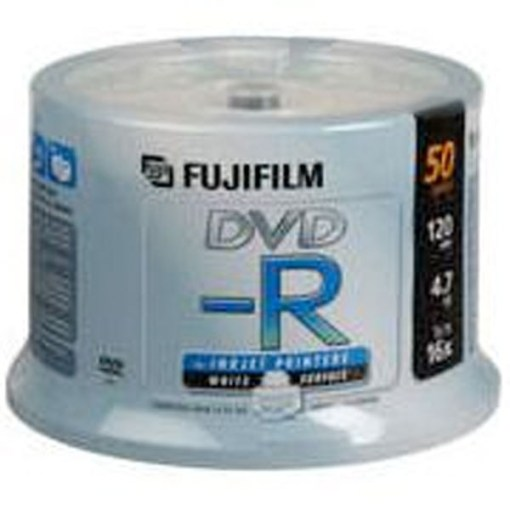 SPINDLE DE 50 DVD-R 4.7G FUJI PRINTABLE