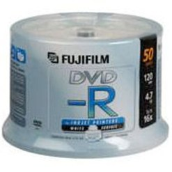 SPINDLE DE 50 DVD-R 4.7G FUJI PRINTABLE
