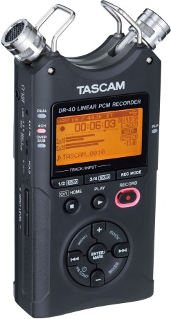 ENREGISTREUR AUDIO PORTABLE TASCAM DR-40