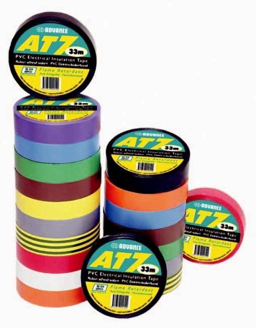 TAPE PVC ISOLATION 15MM X 10M AT7 ''BARNIER'' ORANGE