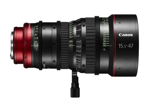 Canon Compact Zoom Cine Lens CN-E 15.5-47mm T2.8 Monture EF - Objectif Zoom