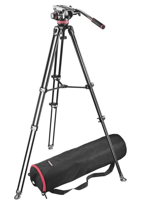 Manfrotto MVK502AM - Kit Trépied et Rotule Vidéo