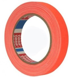 GAFFER TESA ORANGE FLUO 25mm x 25m