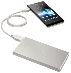 Chargeur nomade USB Sony CP-F2LSA