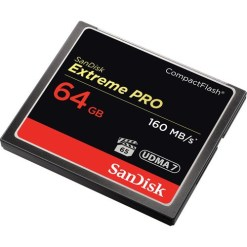 CARTE COMPACT FLASH 64 GB SANDISK EXTREME PRO