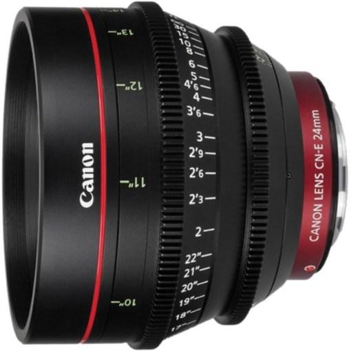 Canon Prime Cine Lens CN-E 24mm T1.5 Monture EF - Objectif Prime