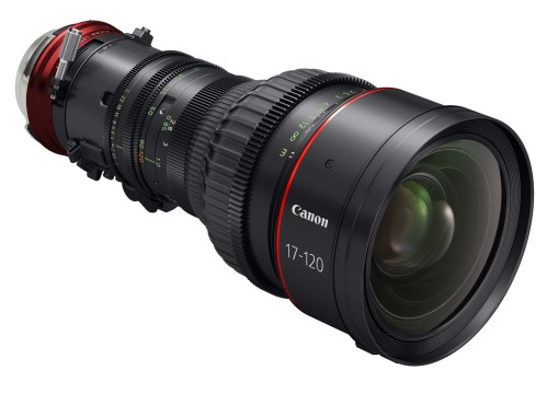 Canon Cine Servo 4K CN 7x17 KAS S / E1 Monture EF - Objectif Zoom Cinéma