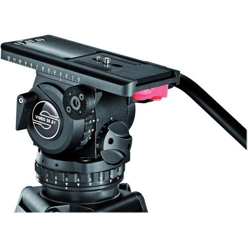 Sachtler 20 S1 SL HD MCF - Kit Trépied et Rotule Vidéo